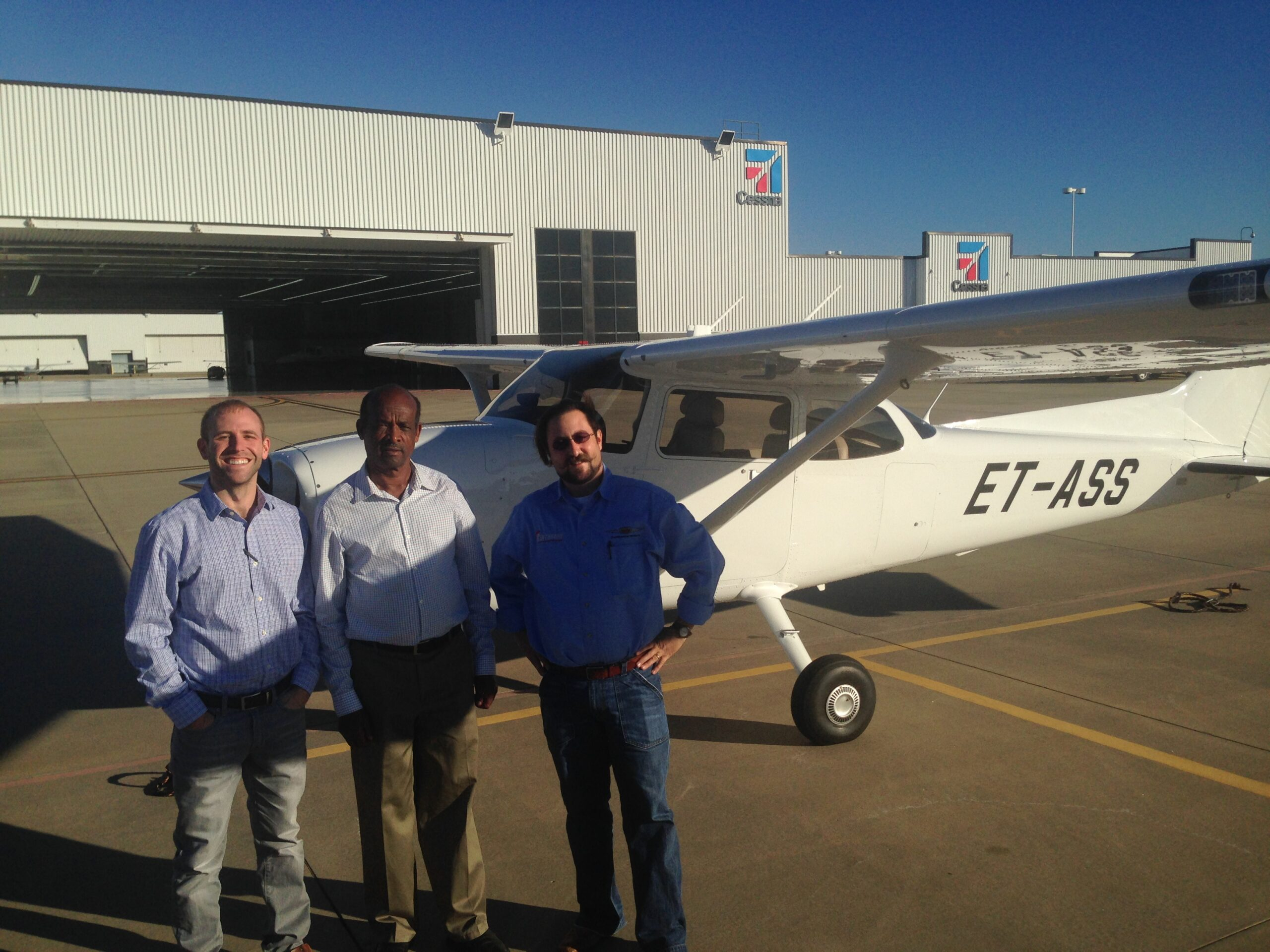 Cessna 172 On Route for Continental Diesel Engine Conversion
