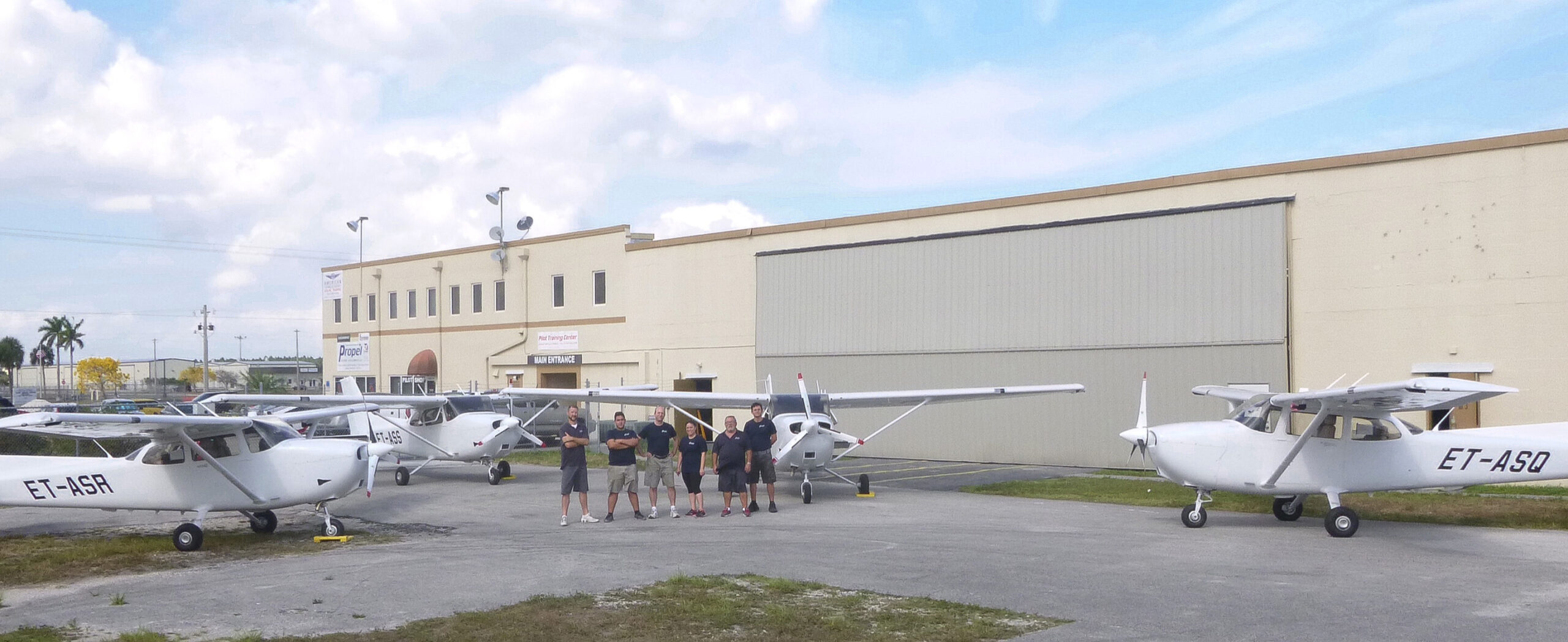 Propel Aviation and Africair, Inc. complete four of seven Cessna G1000 172 diesel conversions in 2015