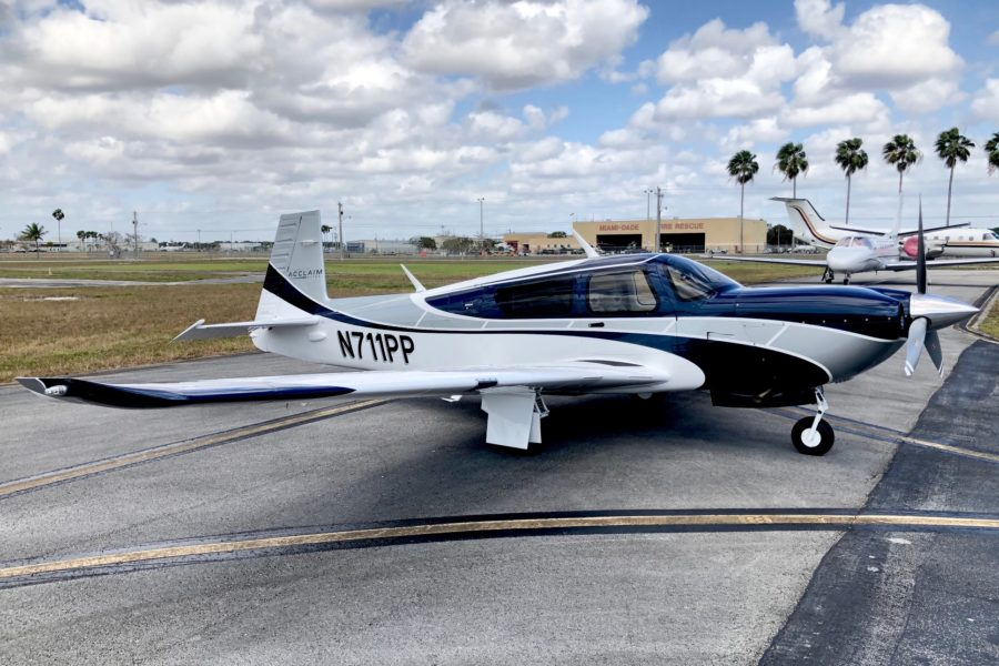 2018 Mooney Acclaim Ultra